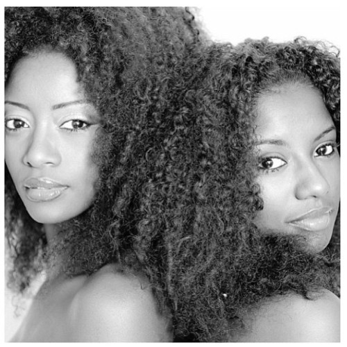 naturalhairdoescare:  We're on a Deoxyribonucleic Acid trip with @boniica & her sister. #naturalhairdoescare #freeyourmanemonday #DNA