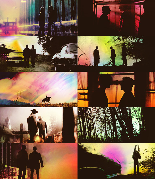 behindmylove:  supernatural + silhouettes (screencaps meme) requested by bertoluccis