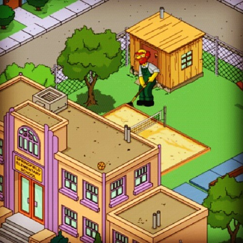Y'all see Willie working hard #simpsons #tappedout lol