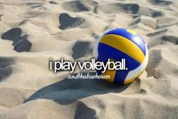 evelinajensen:  Volleyball | via Facebook på @weheartit.com - http://whrt.it/14fveI7