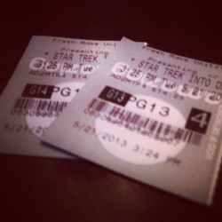 #StarTrek #IntoDarkness #3D #JJ #JJ_Forum #Instagood #Webstagram  (at AMC Fresh Meadows 7)