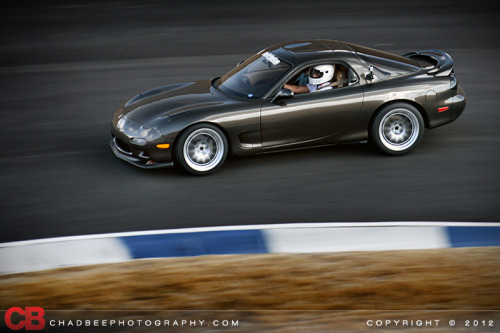 chadbee:  LS1 powered FD RX7 getting some track time in.