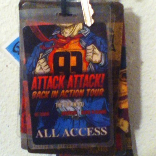 From Mr. Whiting himself ;D #attackattack #aa