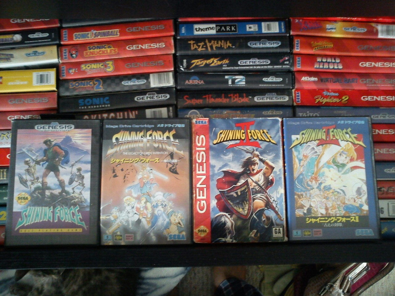 epicpixel:  Shining Force & Shining Force II US vs Japanese boxes