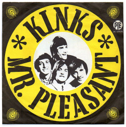 "The Kinks ""Mr. Pleasant"" / ""This Is Where I Belong"" Single - Pye Records, Holland (1967)."