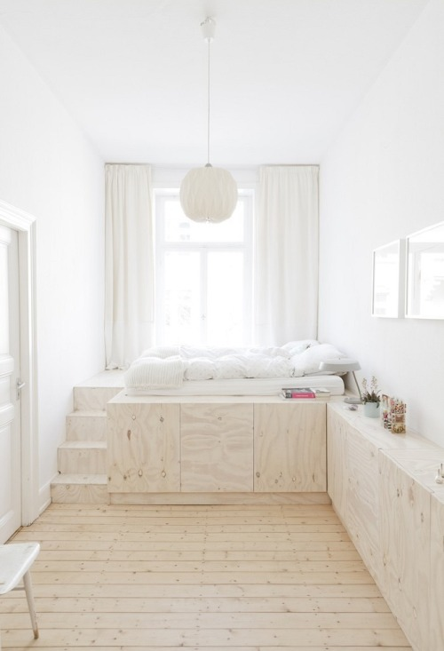 dietcokeandasmoke:  freshuclub:  ✩ cjwho:  Ausbau Apartment Wiesbaden by Studio Oink   How dreamy is thiiiiiissssss