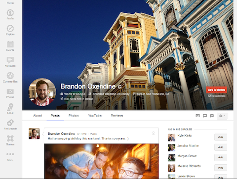 What do you think of Google+'s new cover photo? Love it or leave it?