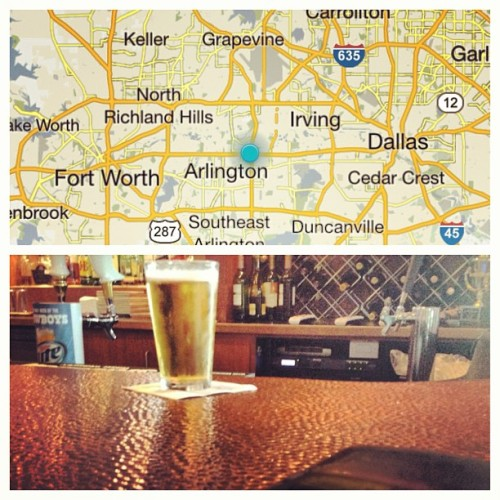 I guess I'm bar hopping…. Anyone in Fort Worth, Arlington, or Dallas areas wanna hang out? (at Boston's Restaurant & Sports Bar)