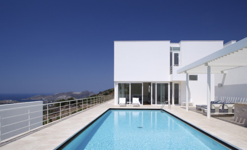 Interactive floor plan: Bodrum House by Richard Meier & Partners