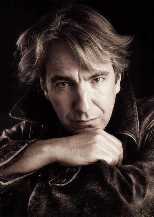 hannahthefannibal:  Perfect pictures of: Alan Rickman- 1/?