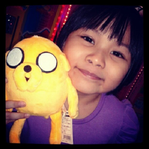 Got Jake from a toy crane ! #instakids #Instagram #igersmanila