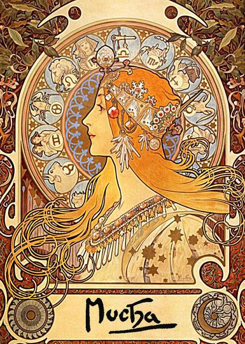 ladybloodsaya:Made By Alphonse Mucha.