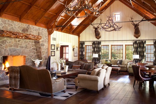 georgianadesign:  Fly fishing vacation home, CO. Ashley Campbell Interior Design.