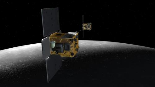 NASA twin probes, GRAIL, will impact on a mountain near the moon's north pole around 5:28 p.m. EST. Live commentary on NASA-TV: http://www.nasa.gov/multimedia/nasatv/index.html