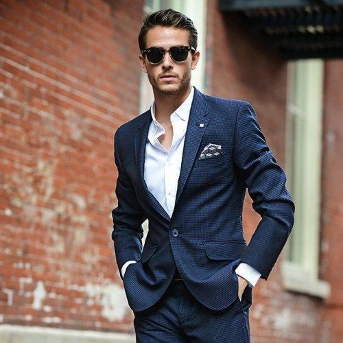 strtmrkt:  Wool Geo Pattern Suit Jacket by Ted Baker Where to buy Follow on fancy