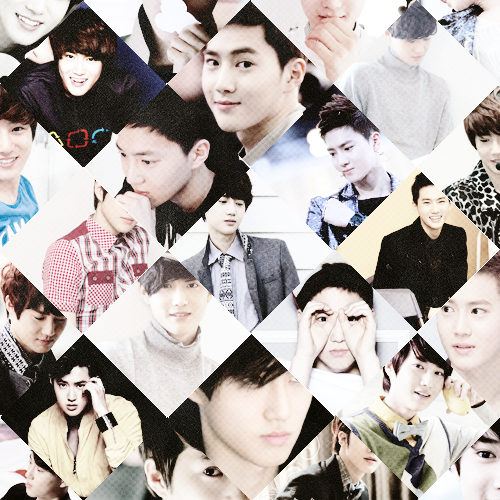 "happy birthday, kim junmyeon!""honestly, i've wanted to give up a lot of times.but i worked hard. i think the reasonwhy i managed to endure it during 7 yearsis because i believed i would succeed if i worked hard."""