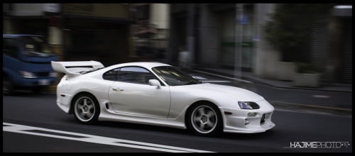 Toyota Supra seen in the streets of Chiyoda-Ku. [source: hajime photo]