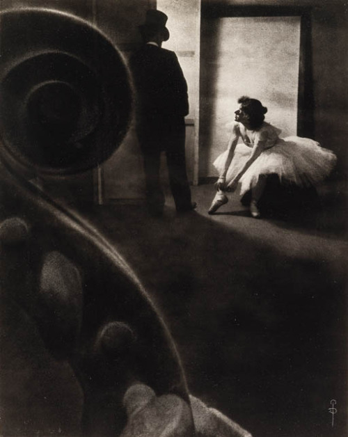 Pierre Dubreuil Behind the Scenes, 1902