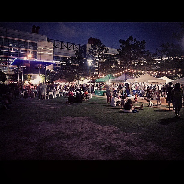#outhere. The Night Flea (market) at #DiscoveryGreen. #LifeStyleClass #Houston