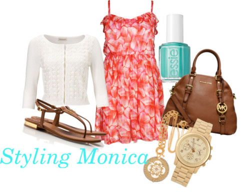 Untitled #661 by stylingmonica featuring a lace cardigan