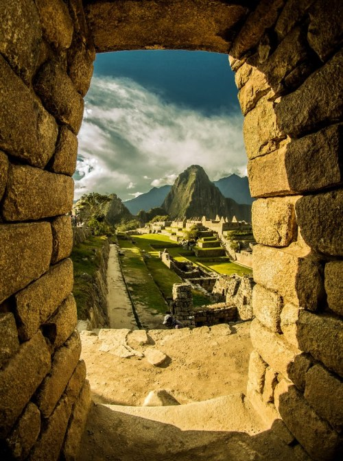 veroushka:  Macchu Picchu - Cusco, Perú Photo by Xaviera Jaras