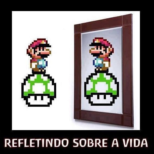 Reflecting… #mario #1up