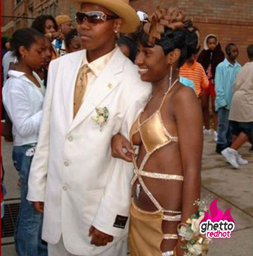 Take me to your ghetto promhttp://www.ghettoredhot.com/ghetto-prom-pics-2013/