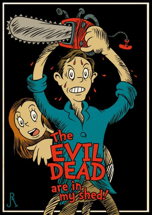 josaphattheodor:  The Evil Dead Are In My Shed