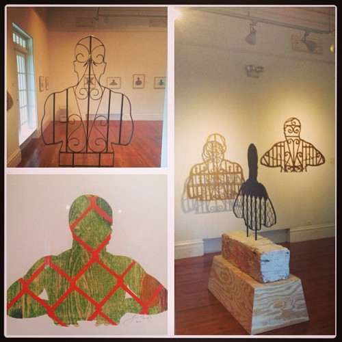The John Beadle Project #art #johnbeadle #installation #bahamas #nassau (at The National Art Gallery of The Bahamas)