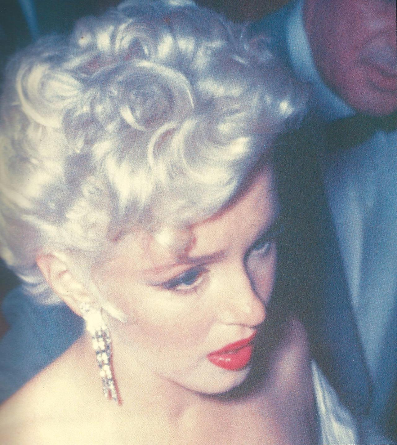Marilyn photographed at the premiere for The Seven Year Itch, 1954