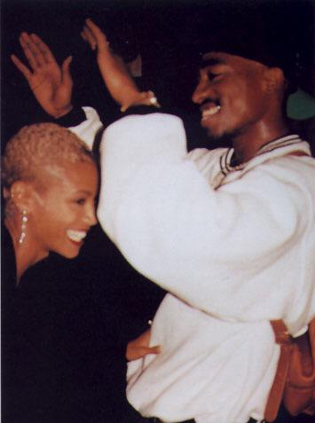Tupac, Jada Pinkett and Allen Payne at the... - Electic Vibes