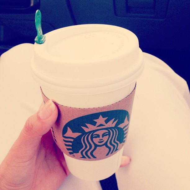 Yes please…!!! #Addiction #lol #Starbucks #coffee #whitepants #work ☕👌