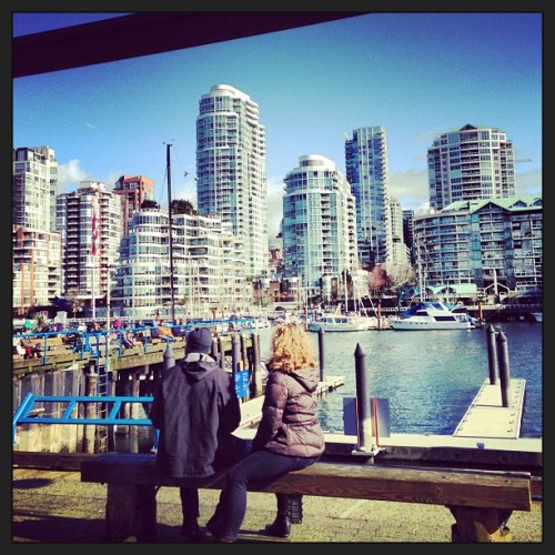 Gorgeous morning hanging out on Granville Island (w/ @n1c0l45) (at Granville Island Public Market)