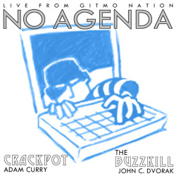 ARGH ! ! ! Rough idea for cover art for No Agenda  … sigh …