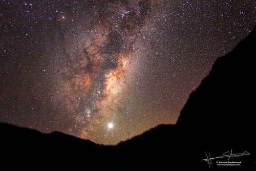 Rise of the MilkyWay by Hernán Stockebrand on Flickr.