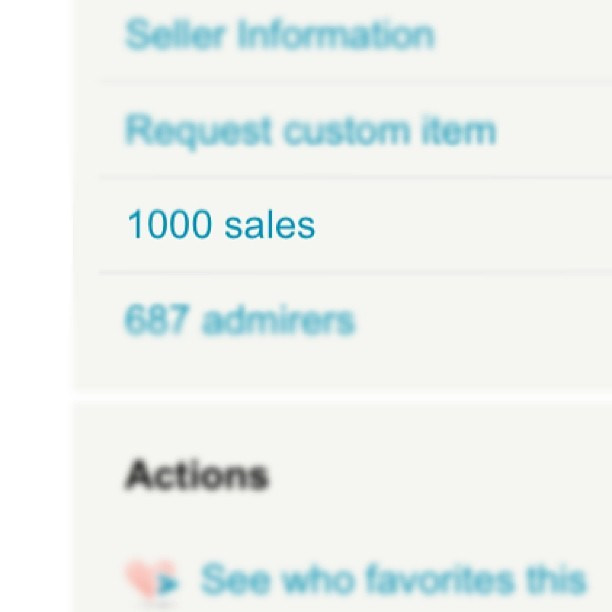 WHAAAAAAT?! We just hit 1000 sales last night on Etsy, which means it's time for big savings at Authored Adornments! Use the Coupon Code 1000YAY for 15% off from now until tomorrow night (Feb 5) at 11:59pm PST.