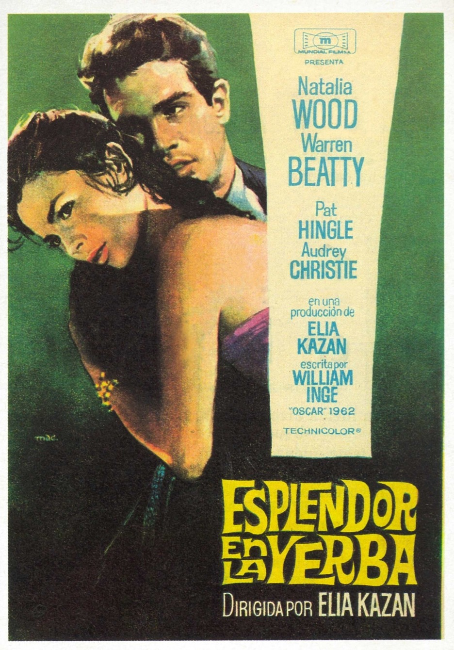 salesonfilm:  FIlms in 2013—#118 Splendor in the Grass (Elia Kazan, 1961)