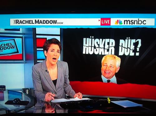 Rachel Maddow is pretty cool
