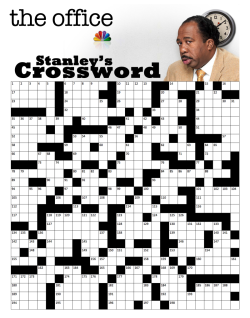 theofficenbc:  Good Morning! Ready for your Sunday crossword?