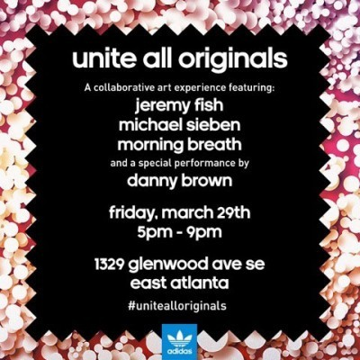If you happen to be in Atlanta this Friday, come hang out with Danny Brown and some art dudes.View Post