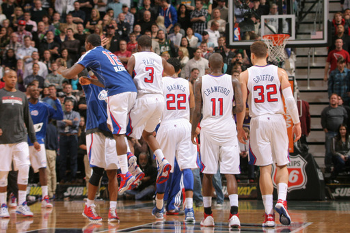 Stat Of The Night: Clippers have won more games (16) on their current streak than the Lakers have won all year (15). @Suga_Shane