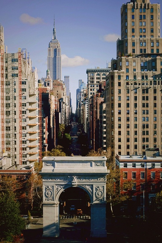 ysvoice:  | ♕ |  Fifth Avenue - NYC  | by © voldy92   NYU view