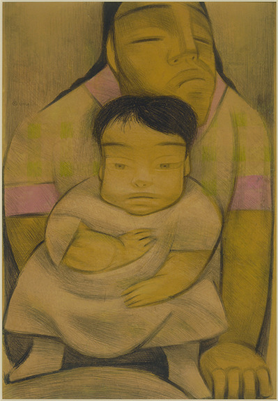 museumoflatinamericanart:  Happy Mother's Day to all the Latin American moms who are celebrating today!  jean charlot