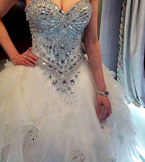 tbdress-club:  Wanna know the hottest beading wedding dresses trends for 2013?? Check out this post for the best inspiration!! @ TBdress.comhttp://bit.ly/ZjLJ34