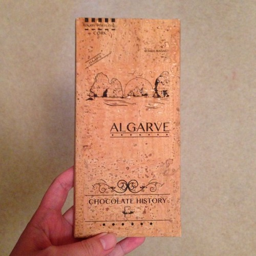 #dark #chocolate #algarve #portugal #souvenir #nom #lush #cork #cool #design #packaging #loveit #instamood #chocoholic #instafood #candy