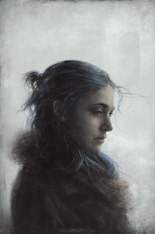 "samspratt:  ""Clementine"" - Illustration by Sam Spratt Eternal Sunshine Of The Spotless Mind was an instant favorite of mine when it came out and remains one of few movies that I'll revisit every couple years — it somehow manages to keep getting better.  Sam Spratt, you continue to amaze me, especially because we have such similar taste in movies and tv"
