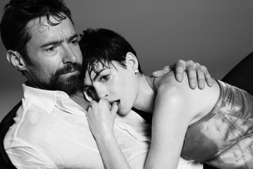 Hugh Jackman and Anne Hathaway by Paola Kudacki.