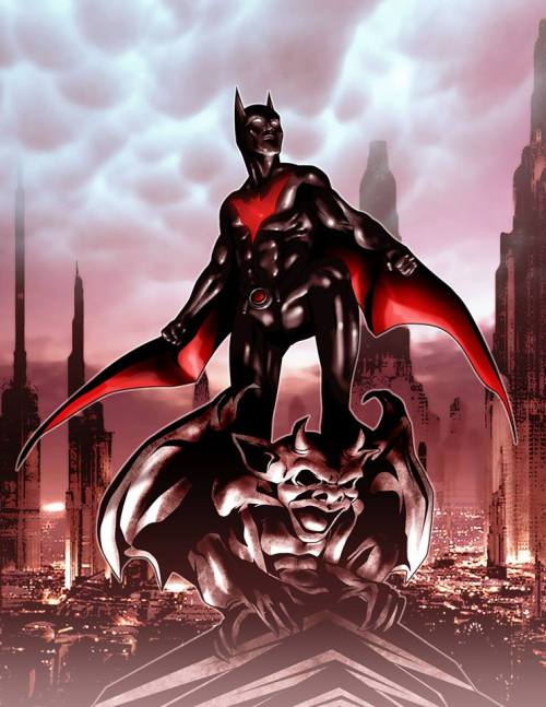 force-recon:  Batman Beyond. Or Batman of the Future if you live in the U.K.