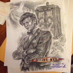 Adam bought this for me at #comiccon #doctorwho