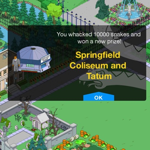 We did it!!! #simpsons #tappedout